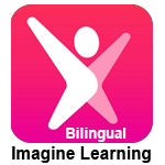 Clickable image with Imagine Learning logo for Bilingual