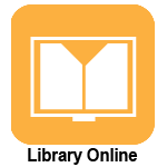 Clickable image with Library Online logo