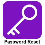 Clickable image with Password Reset logo