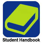 Clickable image with clip art photo of a handbook