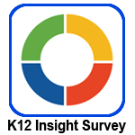 Clickable image with K12 Insight Survey