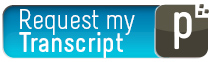 Clickable button that reads 'Request my Transcript'