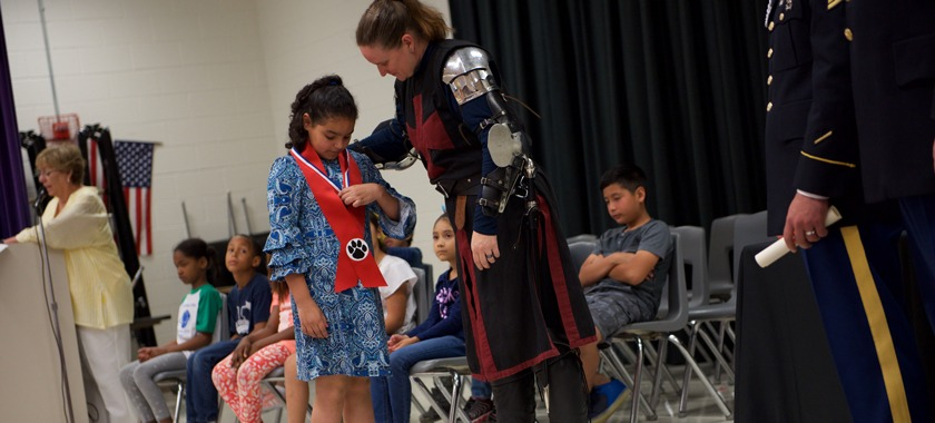 HHES Knighting Ceremonies