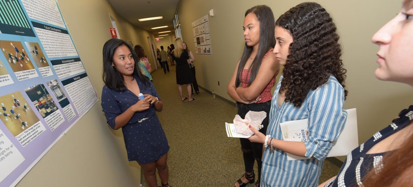 TBI high school students' research