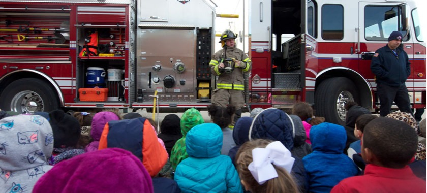 Safety Week attracts first responders to schools