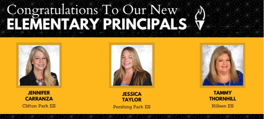 Killeen ISD Announces New Elementary Principals