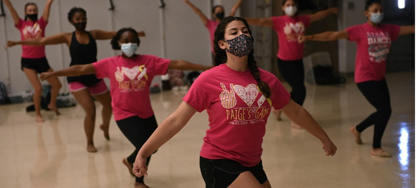 With guidelines in place, training continues for sports, spirit groups.