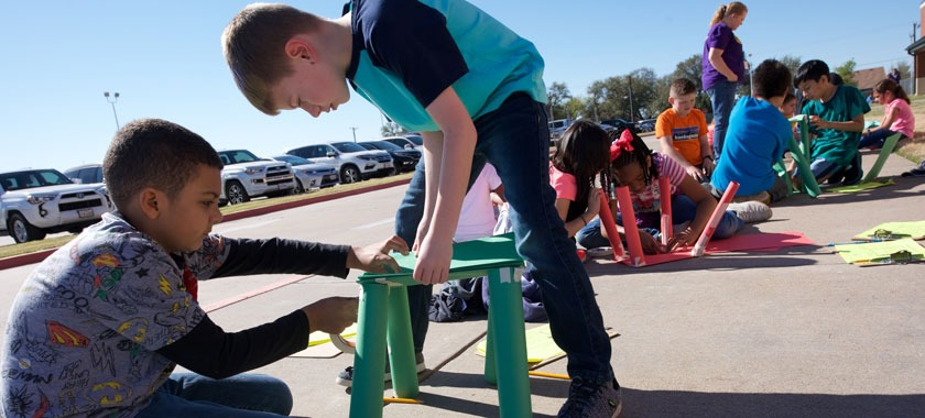 Cavazos Elementary outdoor learning day