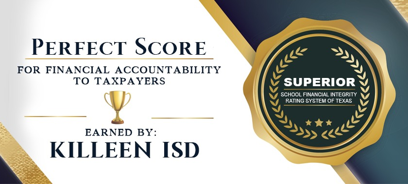 Perfect Score for Killeen ISD Web Banner