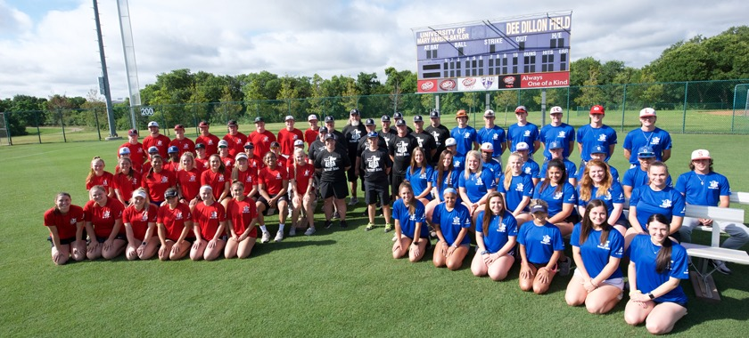 FCA Victory Bowl baseball, softball teams