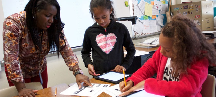 Fifth-graders choose word for the year