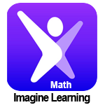 Clickable image with Imagine Learning logo for Math